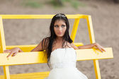 Runaway bride — Stock Photo