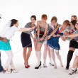 Stock Photo: Ideas for hen party