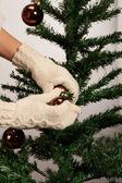 Warm Christmas preparations — Stock Photo