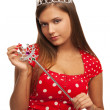Stock Photo: Pageant queen