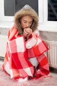 Bir soğuk gece — Stok fotoğraf
