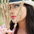 Country seduction — Stock Photo