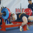 Stock Photo: Competitions on powerlifting