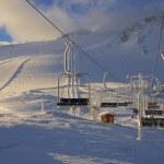 Ski resort France Espace Killy — Stock Photo