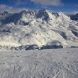 Ski resort France Espace Killy — Stock Photo #16345989