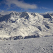 Stock Photo: Ski resort France Espace Killy