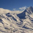 Stockfoto: Ski resort France Espace Killy