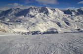 Ski resort France Espace Killy — Stok fotoğraf