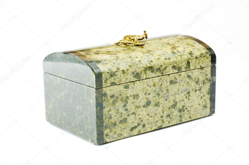 Stone Ural box from the coil. From Ekaterinburg, Russia. — Stock Photo #18476949