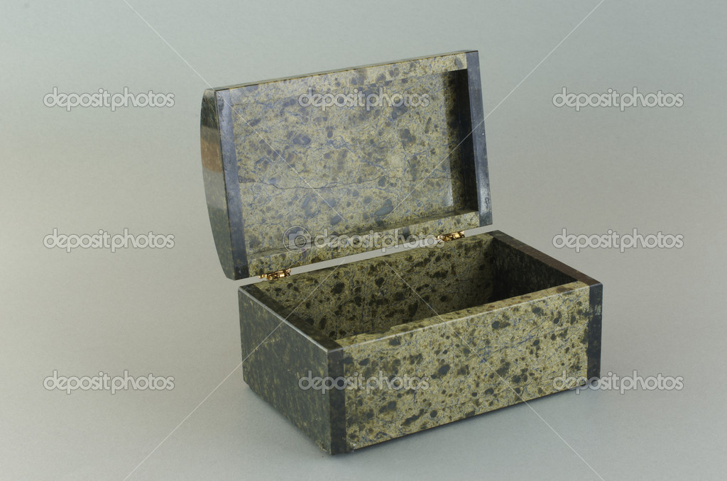 Stone Ural box from the coil. From Ekaterinburg, Russia. — Stock Photo #18477003
