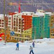 ski resort of krasnaya polyana. — Stock Photo