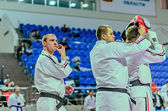 RAMENSKOYE, MOSCOW REGION, RUSSIA - APRIL 2013: the championship — Zdjęcie stockowe