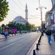 Stock Photo: Roadway of Istanbul.