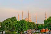 Blue mosque in Istanbul. — Stock Photo