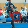 Championship of Russia on powerlifting in Moscow. — Stockfoto