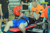 Championship of Russia on powerlifting in Moscow. — Stock Photo