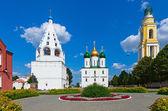 Архитектура Кремля Коломны, город Коломна, Россия. — Стоковое фото