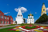 Architecture of the Kolomna Kremlin, city of Kolomna, Russia. — Stok fotoğraf