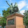 Stock Photo: Monument to Minin and Pozharsky on red square in Moscow.