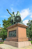 The monument to Minin and Pozharsky on the red square in Moscow. — ストック写真