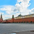 Stock Photo: Red square in Moscow on eve of celebration of baptis