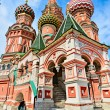 St. Basil's Cathedral on red square in Moscow. — Stock Photo #29008301