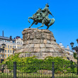 Monument to Bogdan Khmelnitsky, Kiev, Ukraine. — Stockfoto