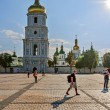 Cathedral of St. Sophia Cathedral built in the first half of XI — Stock Photo