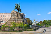 Monument to Bogdan Khmelnitsky, Kiev, Ukraine. — Stock Photo