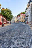 Andreevsky descent - one of the ancient routes of Kiev, Ukraine. — Stock Photo