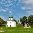 Stock Photo: Spaso-Preobrajensky cathedral in city of Pereslavl-Zalessky.