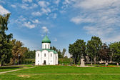 Spaso-Preobrajensky cathedral in the city of Pereslavl-Zalessky. — Stock Photo