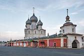 The Walls of the Rostov Kremlin, Russia. — Stock Photo