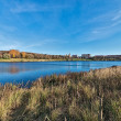 Lake in town of Ramenskoye, Russia. — Stockfoto #33559717