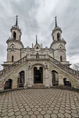 Church in honour of the Vladimir icon of the mother of God, buil — Stock Photo