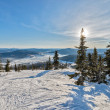 Ski resort Sheregesh, Kemerovo region, Russia. — Stock Photo #37818835