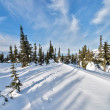 Ski resort Sheregesh, Kemerovo region, Russia. — Stock Photo #37818927