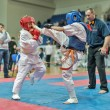 Competition on kyokushinkai karate. — Stock Photo #41549043