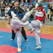 Competition on kyokushinkai karate. — Stock Photo #41549061