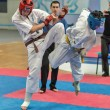 Competition on kyokushinkai karate. — Stock Photo #41549297