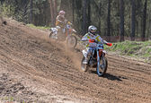 Motocross compertitions. — Photo