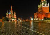 Moscú nunca duerme. — Foto de Stock