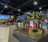 Exhibition of arms, Russia. — Foto Stock