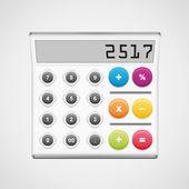 Calculator — Vettoriale Stock