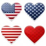 American Hearts — Stock Vector #48428515