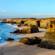 Stock Photo: Uncrowded Atlanctic Rocky Coastline
