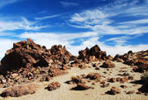 Teide Volcano terrain — Stock Photo