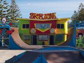 Renkli skatepark — Stok fotoğraf