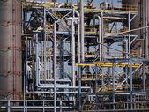 Tuberías industriales detalle — Foto de Stock