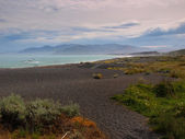 Beatiful view of Kaikoura coast — Stock Photo